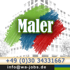 maler m w im facility management berlin wa jobs. Black Bedroom Furniture Sets. Home Design Ideas