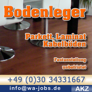 bodenleger m w f r berliner unternehmen wa jobs. Black Bedroom Furniture Sets. Home Design Ideas
