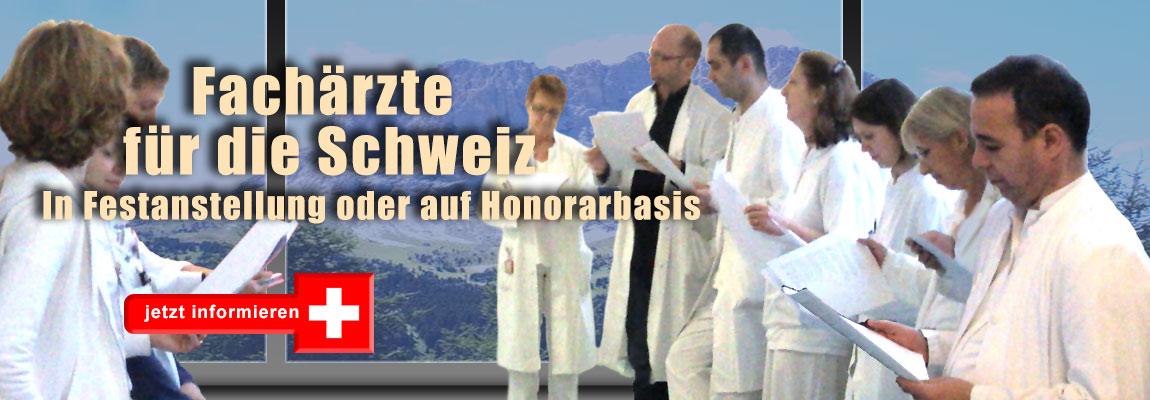Angebote für Ärzte in der Schweiz